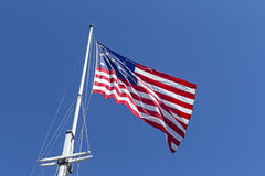 Fort McHenry replica 1812 flag. Stock Image