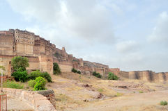 Fort of Mehrangarh Royalty Free Stock Image