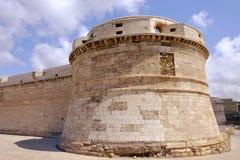 Fort Michelangelo w Civitavecchia, Włochy - 25 04 2017 Obrazy Stock