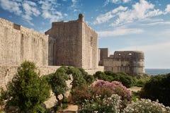 Fort Minceta, Dubrovnik Obrazy Royalty Free