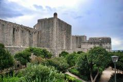 Fort Minceta, Dubrovnik stockbild