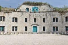 Fort Monostor, Komarom, Hongarije Royalty-vrije Stock Foto