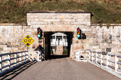 Fort Monroe in Hampton, Virginia Bridge and Tunnel Royalty Free Stock Photography