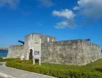Fort Montagu Nassau Royaltyfria Bilder