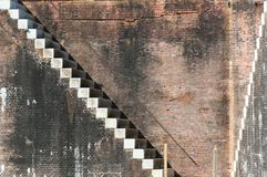 Fort Morgan, Alabama. Abstract of Fort Morgan a historic masonry star fort at the mouth of Mobile Bay.  Completed in 1834, Fort Morgan was active during four Royalty Free Stock Photos