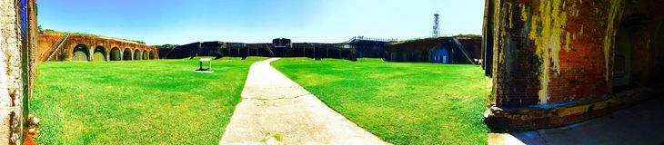 Fort Morgan. The Fort at Fort morgan used during different wars royalty free stock image