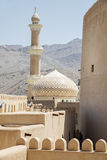 Fort and mosque Nizwa Stock Images