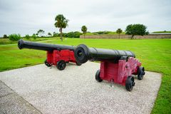 Fort Moultrie in Charleston, South Carolina Stockfotos