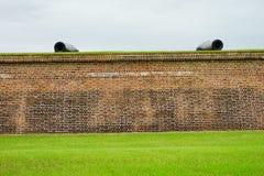Fort Moultrie in Charleston, South Carolina Lizenzfreie Stockfotos
