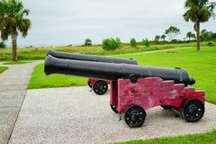 Fort Moultrie in Charleston, South Carolina Lizenzfreie Stockbilder