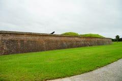 Fort Moultrie in Charleston, South Carolina Stockbilder