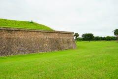 Fort Moultrie in Charleston, South Carolina Lizenzfreies Stockbild