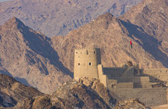 Fort of Mutrah, Muscat, Oman Royalty Free Stock Images
