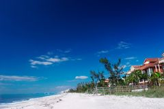 Fort myers beach. Florida shoreline Stock Images
