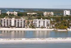 Fort-Myers Beach-Eigentumswohnung stockfotos