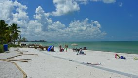 Fort Myers Beach FL 4k stock video footage