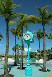 Fort Myers Beach, horloge de Times Square Photo stock