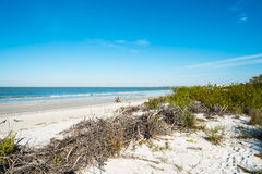 Fort Myers Beach. Pretty Fort Myers Beach on the west coast of Florida Stock Image