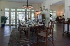 FORT MYERS FLORIDA - MAJ 02, 2015: Edison och Ford Winter Estates Interior Arkivbilder