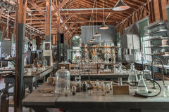 FORT MYERS, FLORIDA - MAY 02, 2015: Edison and Ford Winter Estates Interior. Stock Image