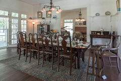 FORT MYERS, FLORIDA - MEI 02, 2015: Edison en Ford Winter Estates Interior stock foto