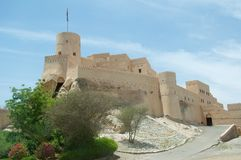 Fort Nakhal Stock Photo