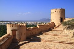 Fort Nakhl Royalty Free Stock Photo
