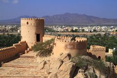 Fort Nakhl Stock Image