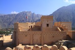 Fort Nakhl Royalty Free Stock Images
