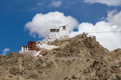 Fort and Namgyal in Leh, Ladakh, India Royalty Free Stock Image