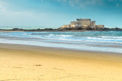 Fort National fortress in St-Malo Stock Photo