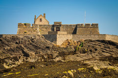 Fort National near by Saint-Malo Stock Images