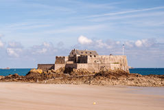 Fort National in Saint-Malo Royalty Free Stock Photos