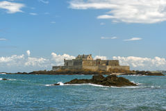 Fort National in Saint-Malo Stock Photo