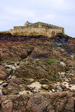 Fort National in Saint Malo Brittany France Stock Image