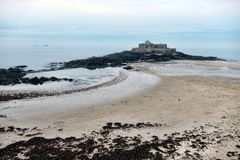 Fort National in Saint Malo France Royalty Free Stock Photo