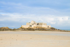 Fort National, Saint Malo,  France Stock Photos
