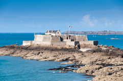 Fort national in Saint Malo, France Stock Image
