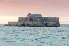 Fort national in Saint Malo, France Royalty Free Stock Images