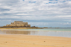 Fort National in Saint Malo, France Stock Photo