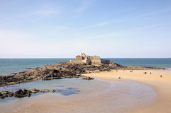 The Fort National. Saint Malo. France Royalty Free Stock Photography