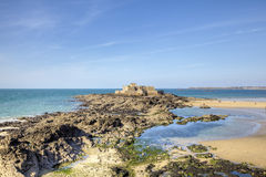 The Fort National. Saint Malo. France Royalty Free Stock Photo