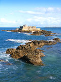 Fort National at St Malo royalty free stock photos