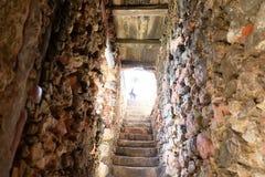 Fort Nazare Stockbild