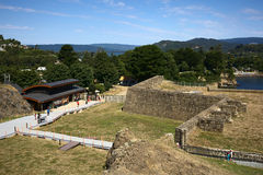 Fort Niebla, Chile Fotografia Royalty Free