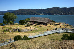 Fort of Niebla, Chile Royalty Free Stock Images