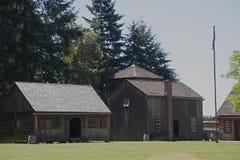 Fort Nisqually Royalty-vrije Stock Foto