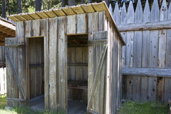 Fort Nisqually Stockfotos