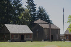 Fort Nisqually Royalty Free Stock Photo
