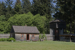 Fort Nisqually Stock Photography